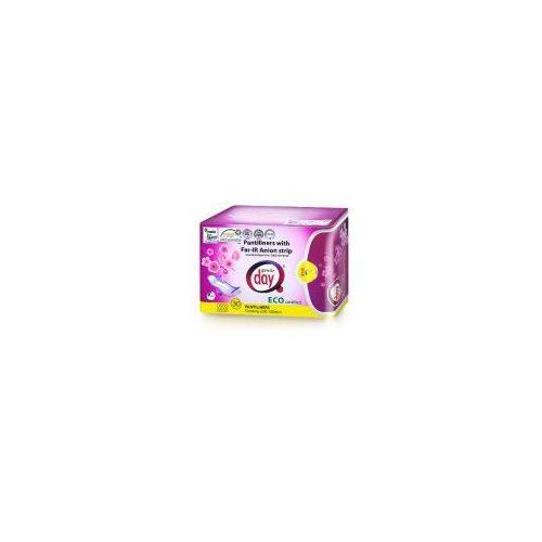 Gentle day - wkładki ekologiczne z paskiem anionowym: rozmiar - 30 sztuk marki Madal bal