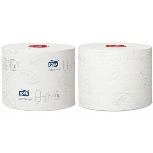 Papier toaletowy do dozownika z automatyczną zmianą rolek mid-size 2 warstwy 100 m biały marki Tork