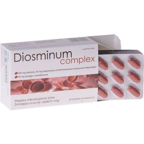 Access pharma sp. z o.o. Diosminum complex 0,5g x 60 tabletek
