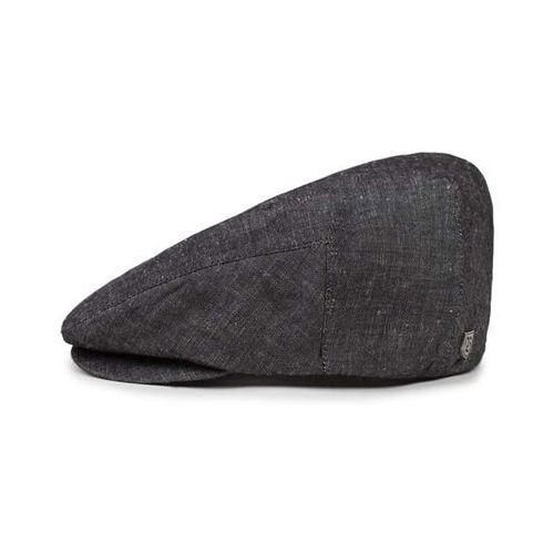 czapka z daszkiem BRIXTON - Hooligan Snap Cap Black Linen (BKLNN) rozmiar: M, kolor czarny
