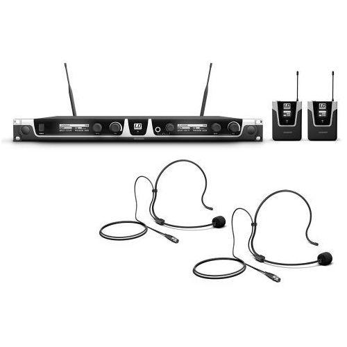 u506 uk bph 2 mikrofon bezprzewodowy nagłowny, podwójny marki Ld systems