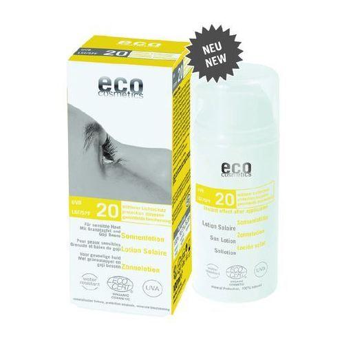 Eco cosmetics Emulsja na słońce lsf/spf 20 z granatem i owocem goji 100 ml (4033981742412)