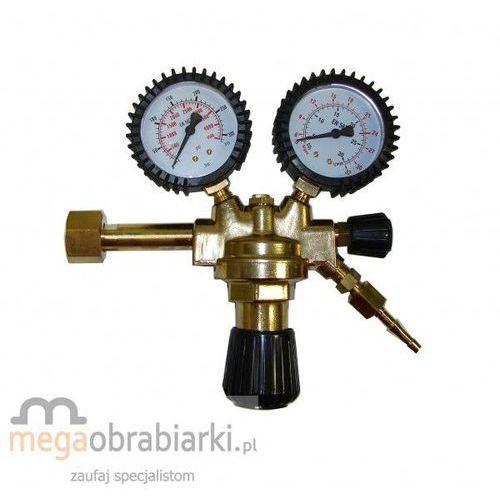 TELWIN Reduktor CO2/Ar z rotametrem i podgrzewaczem 36V - produkt z kategorii- akcesoria spawalnicze