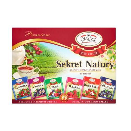 30x2g zestaw 6 herbat owocowych marki Malwa