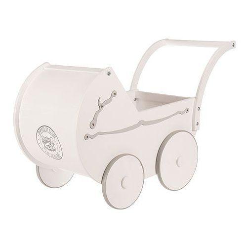 Wózek Montmartre/Wooden Story (biały & szary) - oferta [05bdec0f51e2141a]