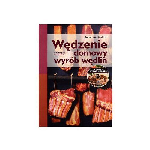 """Wydawnictwo rea-sj Książka """"wędzenie oraz domowy wyrób wędlin"""". z płytą cd bernhard gahm"""