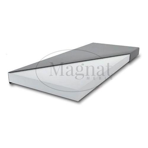 Łóżko drewniane Lidia 120x200 z materacem piankowym