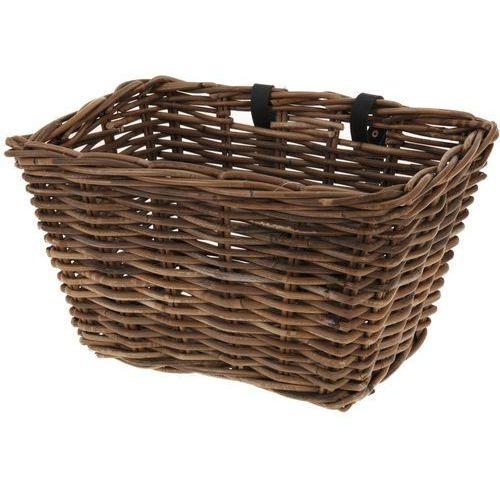 Wiklinowy koszyk na rower, 39 x 28 cm marki 4home