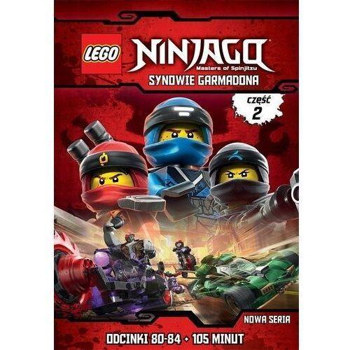 Michael helmuth hansen Lego ninjago: synowie garmadona, część 2 (odcinki 80-84) (płyta dvd)