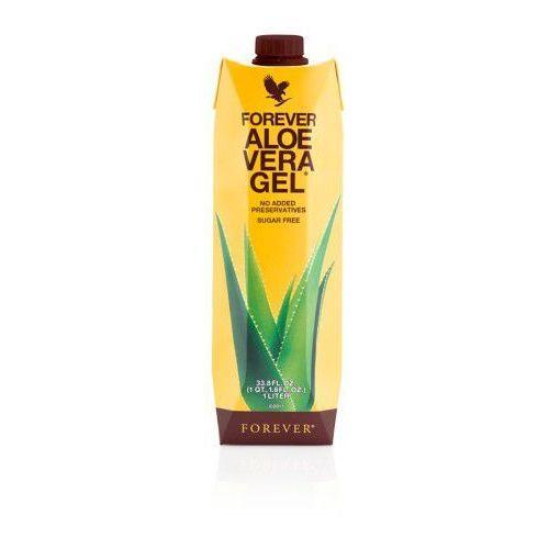 Forever living products Miąższ aloesowy, 99,7% soku z liści aloesu - forever aloe vera gel, opakowanie 1 litr