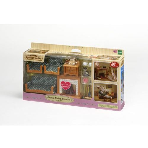 Sylvanian Families, luksusowy zestaw do salonu (domek dla lalek) od Smyk