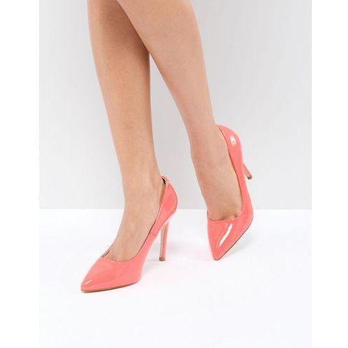 Truffle Collection Neon Point High Heels - Orange