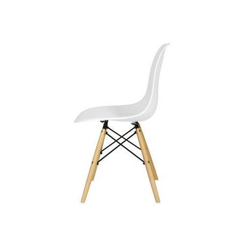 Zestaw mebli do jadalni mediolan stół i 6 krzeseł - biały - biały marki Edomator.pl