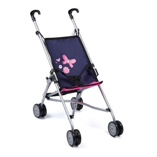 Bayer Design Wózek spacerowy Buggy, różowy/niebieski - oferta [4516e9090192565f]