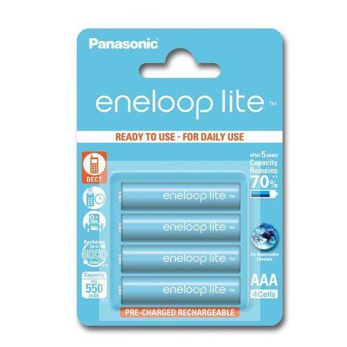 Panasonic 4 x eneloop lite r03/aaa 550mah bk-4lcce/4be (blister)