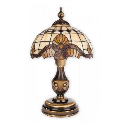 Vitrus lampka stołowa mała 1 pł. / patyna, Dodaj produkt do koszyka i uzyskaj rabat -10% taniej!, O2068 LM1 PAT