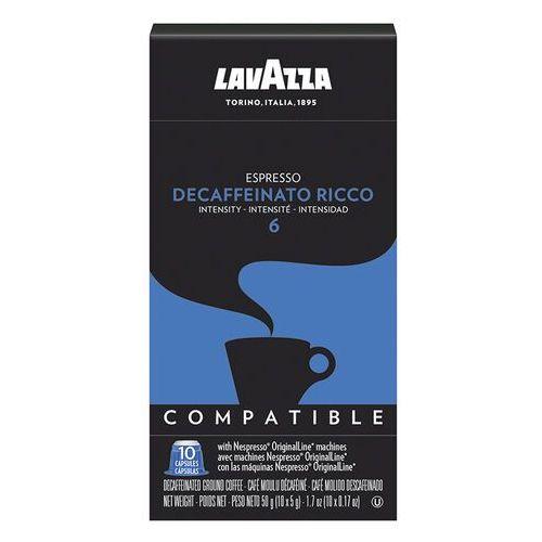 Lavazza nespresso decaffeinato ricco -10 sztuk marki Nespresso kapsułki