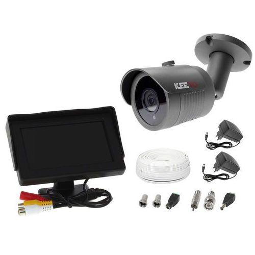 "Zestaw do monitoringu kamera lv-al30ht tuba tubowa monitor 4,3"" zasilacz przewód podgląd na monitorze marki Ivelset"