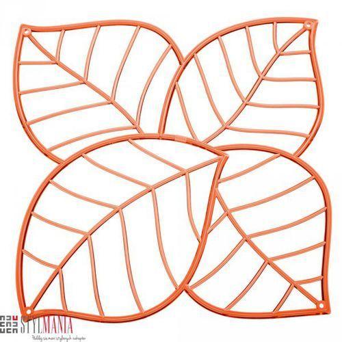 Panel dekoracyjny Koziol Leaf liście pomarańczowy 4 szt. KZ-2043509 - oferta [f55bd940e37ff6b8]