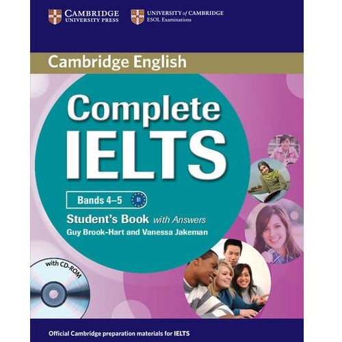 Complete IELTS Bands 4-5 Student's Book (podręcznik) with Answers and CD-ROM (9780521179560)