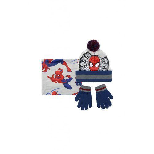 czapka, szalik, rękawice1x35bc marki Spiderman