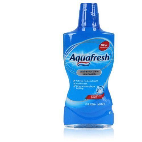 Aquafresh Płyn Do Płukania Jamy Ustnej Niebieski 500 Ml (5000347054303)