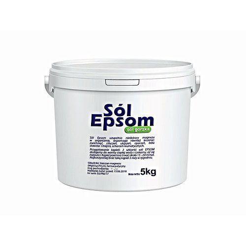 Sól epsom (siarczan magnezu) wiadro 5 kg marki Vitafarm