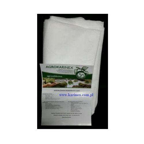 Agrowłóknina wiosenna PP 17 g/m2 biała 1,6 x 10 mb. Paczka o wadze 0,3 kg. z kategorii folie i agrowłókniny