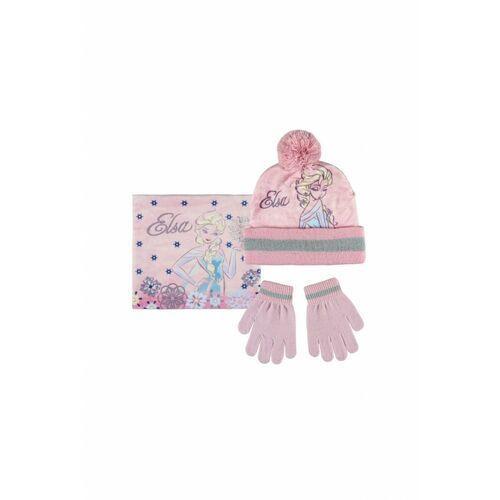 Czapka,szalik,rękawice 3x35be marki Frozen
