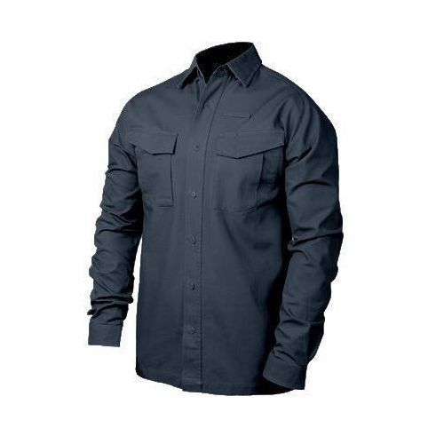 Koszula performance cotton tactical shirt ls (długi rękaw) - 88ts03 - black marki Blackhawk