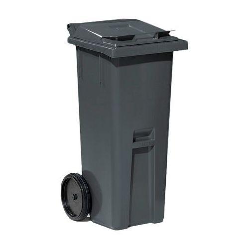 Szary kontener na odpadki o poj.140 l - 480x540x1060mm marki Array
