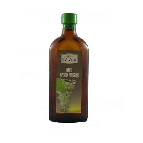 Ol'vita Olej z pestek winogron 250ml tłoczony na zimno -