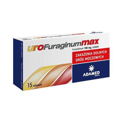 UROFURAGINUM Max 0,1g x 15 tabletek - 15 tabletek