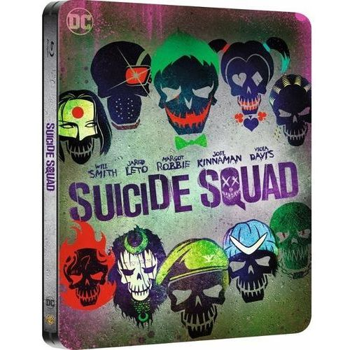 Legion Samobójców 3D Steelbook (Blu-ray) - David Ayer DARMOWA DOSTAWA KIOSK RUCHU (7321996343791)
