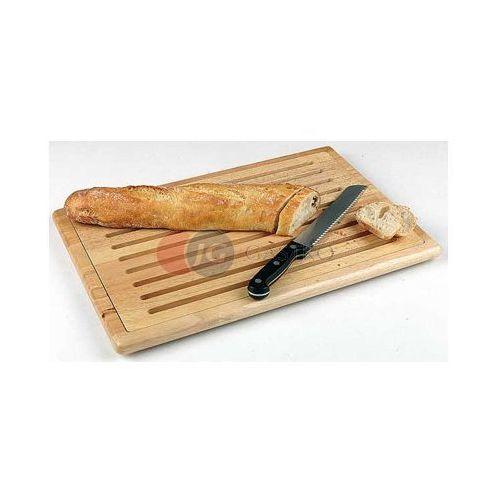 Aps Deska drewniana do krojenia pieczywa 530x325 mm 956