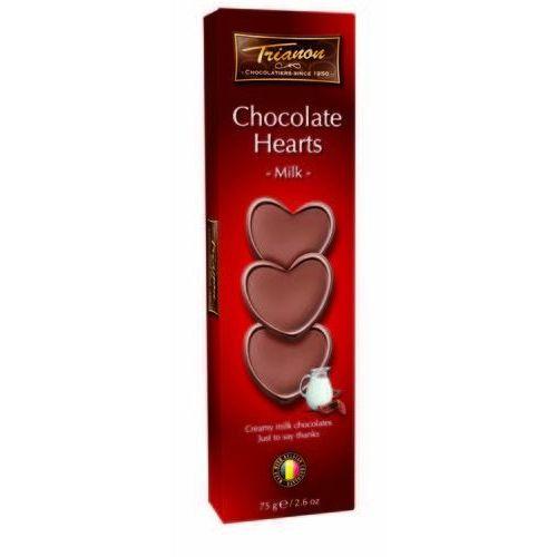 Trianon czekoladowe serduszka z mlecznej czekolady 75g (8711508503512)