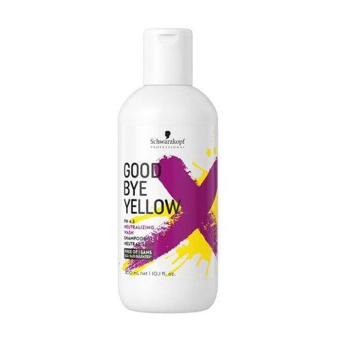 Schwarzkopf goodbye yellow | szampon neutralizujący żółte odcienie 300ml (4045787404821)