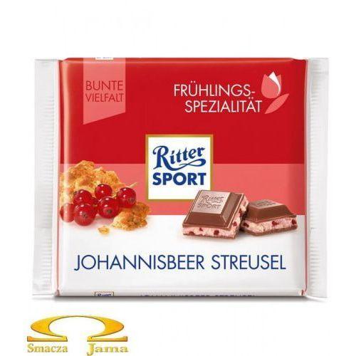 Czekolada Ritter Sport Johannisbeer Strusel 100g, 1085-441C6