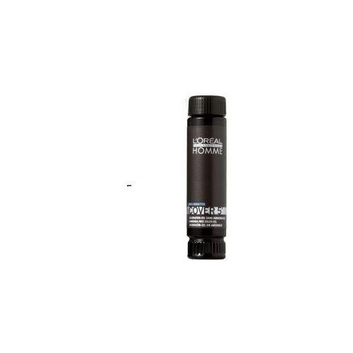 L'Oreal Homme Cover 5' (M) żel koloryzujący do włosów 04 3x50ml (stylizacja włosów)