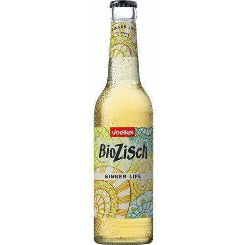 Napój gazowany imbirowy ginger life bio 330 ml marki Voelkel