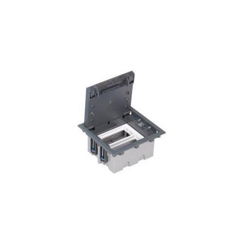 Puszka podłogowa 4 modułowa pogłębiana marki Kontakt simon