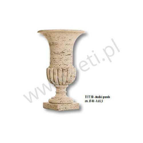 Donica trawertynowa vaso medici grande 40x65,5 cm marki Tecno art marmi