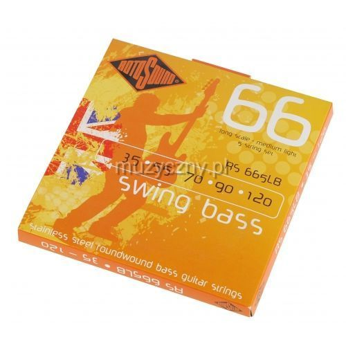 Rotosound rs-665lb swing bass struny 35-120