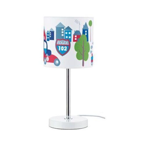 KIDS CONCEPT Lampka na biurko Turbo kolor niebieski (lampka biurkowa) od pinkorblue.pl