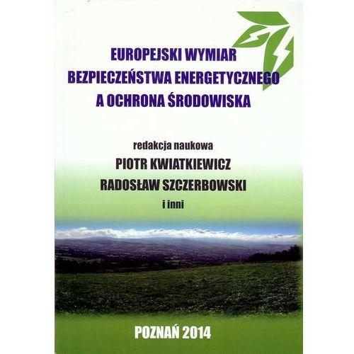 Europejski wymiar bezpieczeństwa energetycznego a ochrona środowiska (9788364541025)