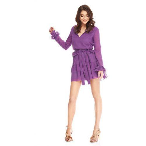 Sukienka Alyssa w kolorze fioletowym