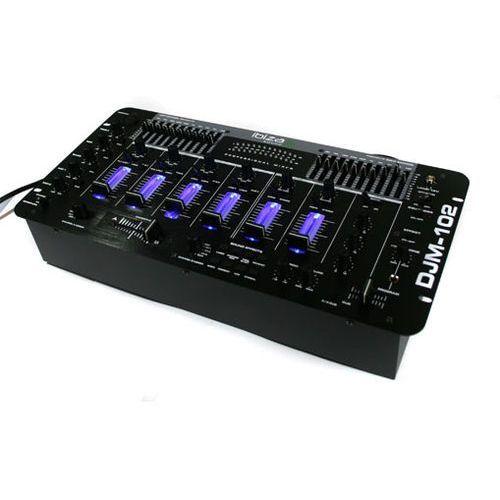 Mikser IBIZA DJM-102 4-kanałowy LED z Echo