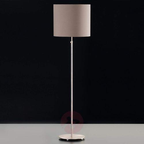 Honsel marie lampa stojąca nikiel matowy, 1-punktowy - nowoczesny - obszar wewnętrzny - marie - czas dostawy: od 6-10 dni roboczych