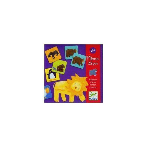 Djeco Gra pamięciowa kolorowe zwierzątka (3070900081109)