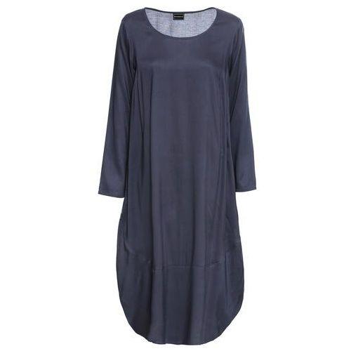 Sukienka czarno-kremowy marki Bonprix